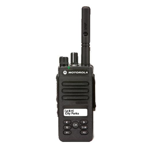 Motorola DP2600 146–174 и 403-470 МГц