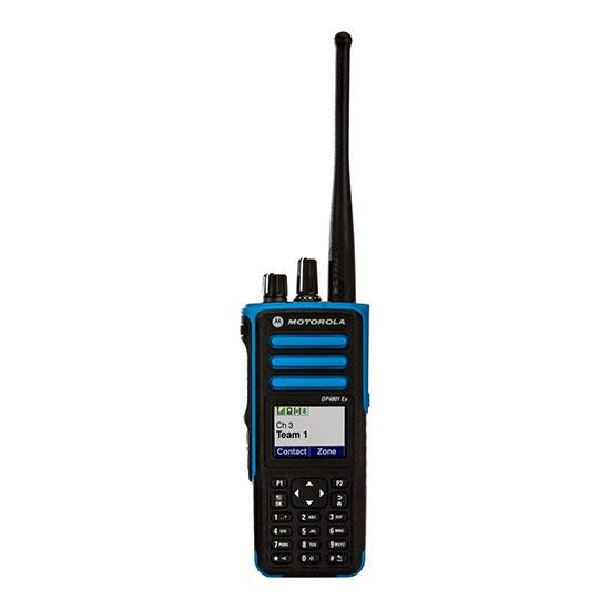 Motorola DP4801 136-174 и 403-527 МГц