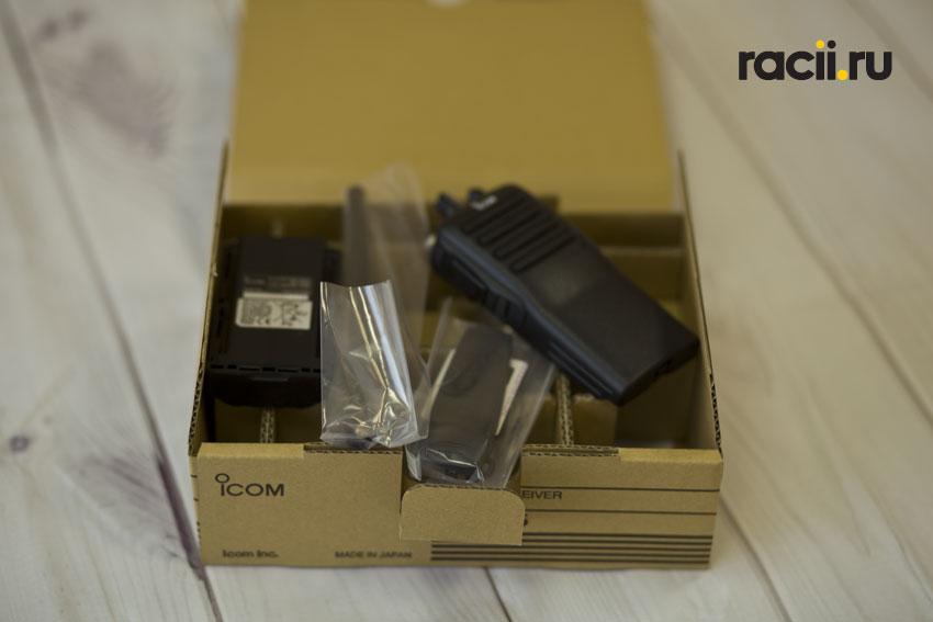 Комплект поставки Icom IC-F16