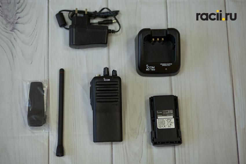 Полный комплект поставки Icom IC-F16